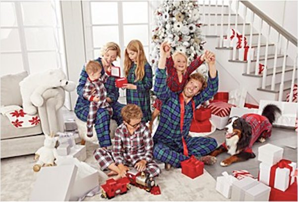 Family Matching Plaid Pajamas