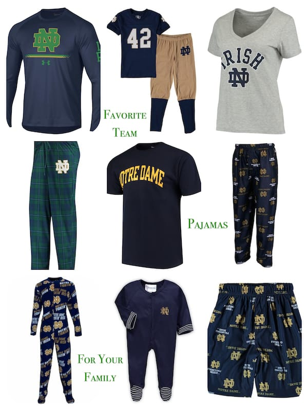 Favorite Team Pajamas for Families