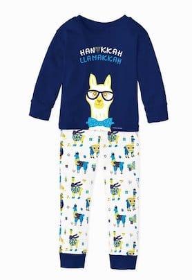 LLamukkah Hanukkah Kids Pajamas