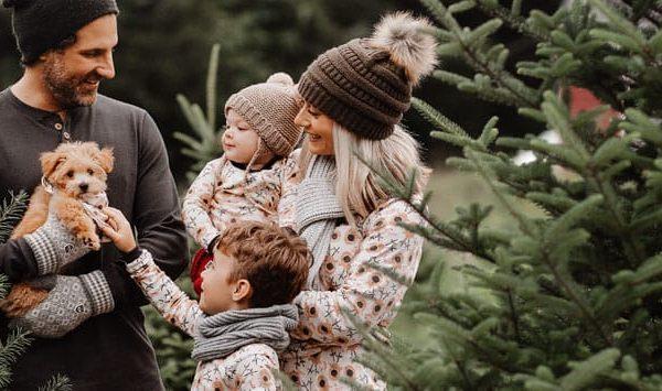 Woodland Animal Christmas Pajamas