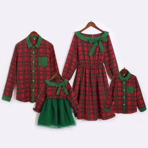 Family Matching Christmas Outfits