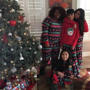 Family Matching Fairisle Snowman Christmas Pajamas