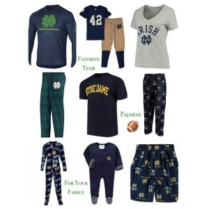 Family Matching Team Spirit Pajamas