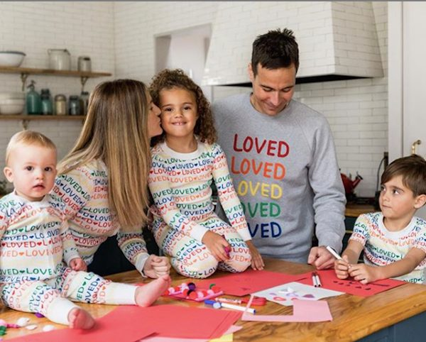 Matching Family Loved Pajamas