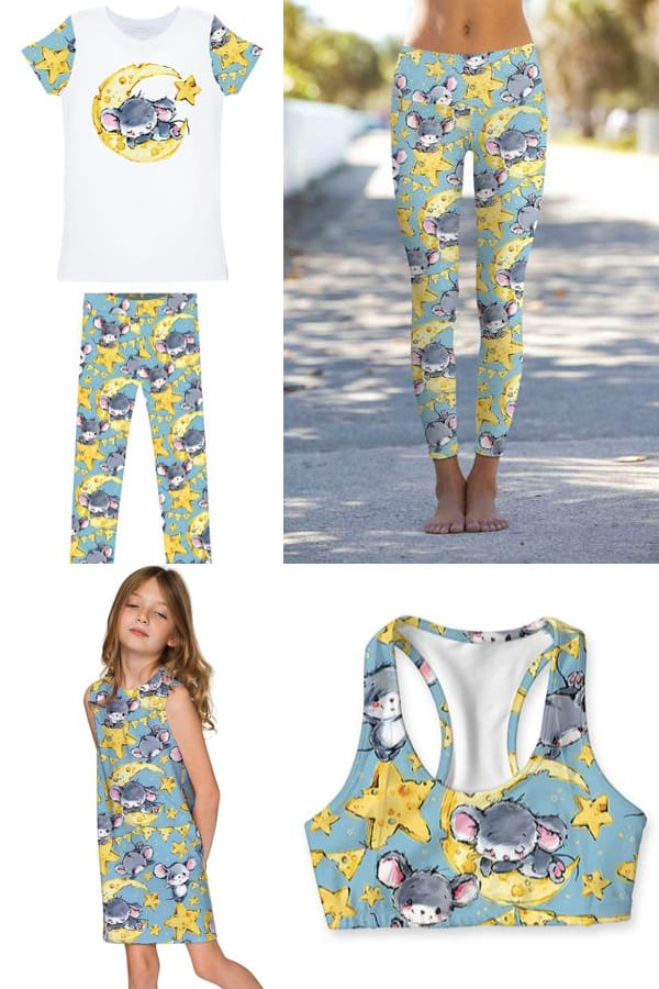Pineapple Clothing Mommy and Me Yoga Wear