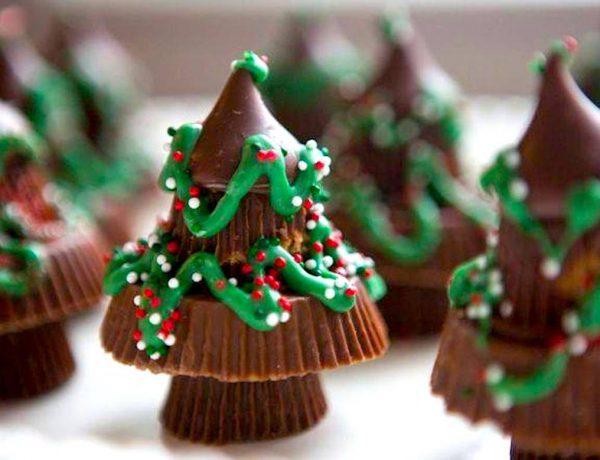 Reese Chocolates Christmas Tree