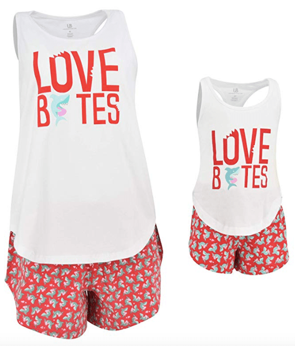 Love Bites Mommy and Me Picture Perfect Pajamas