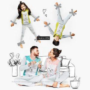 Family Matching Llama Fun Pajamas