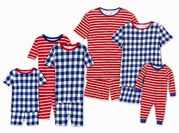 Americana Mix and Match Family Pajamas Collection