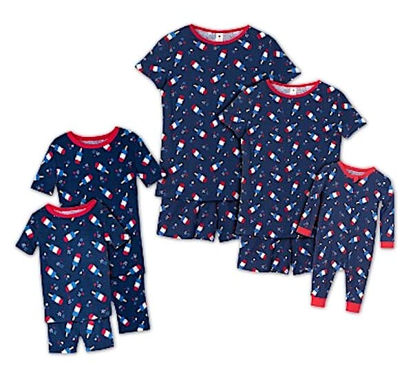 Americana Popsicles Family Pajama Collection
