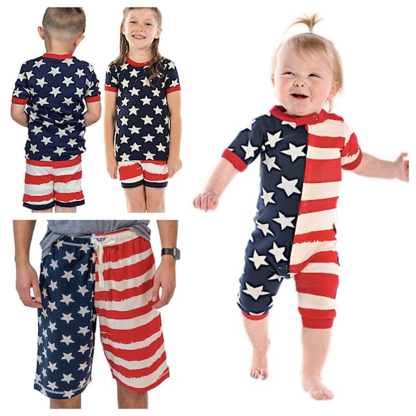 Stars and Stripes Family PJs