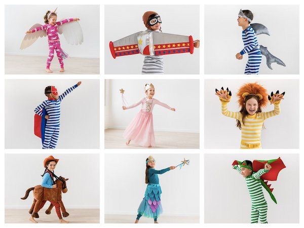 Accessorize Pajamas to Create Fun Halloween Costumes