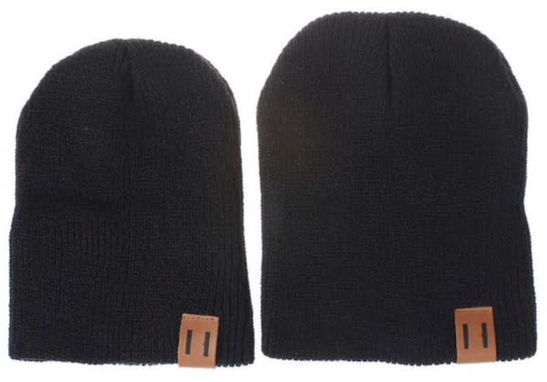Adult & Kid Matching Beanies