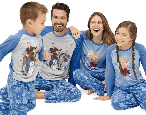 Disney Frozen Family Pajamas