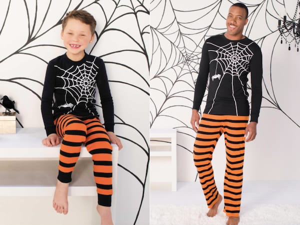 Family Matching Spooky Spider Pajamas