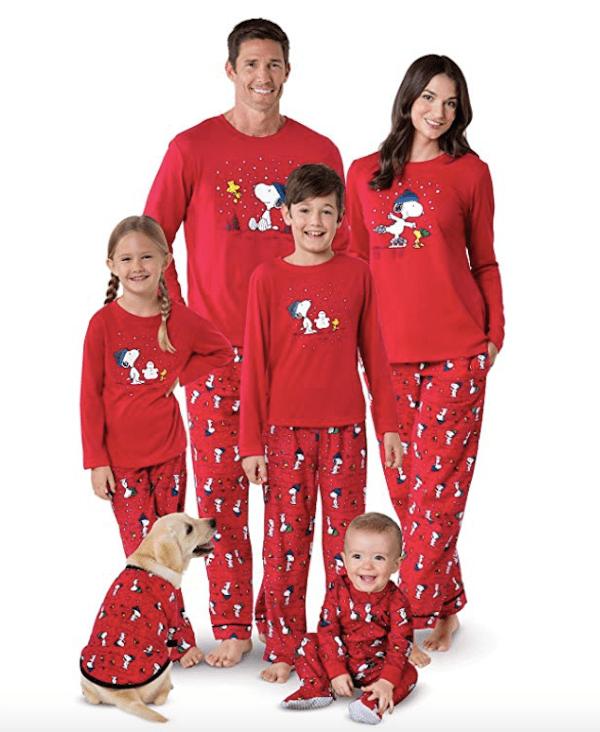 Family Snoopy Holiday Pajamas