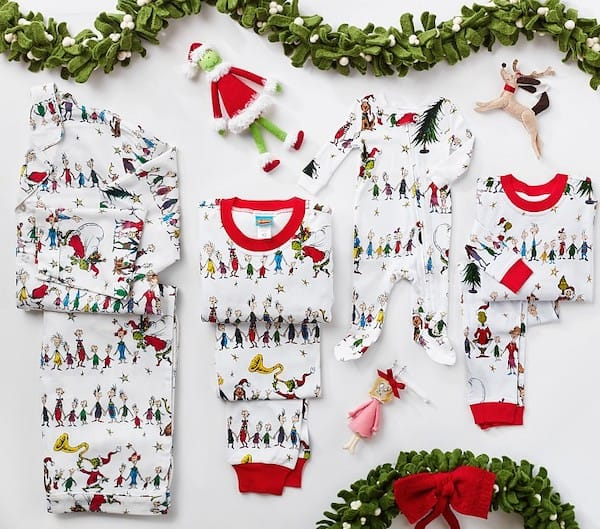 Grinch Flannel Family Pajamas Collection