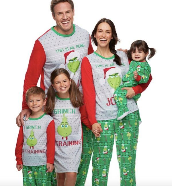 Jolly Grinch Family Pajamas Collection