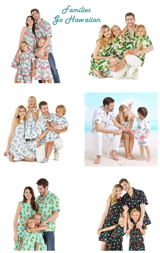 Matching Family Hawaiian Shirts
