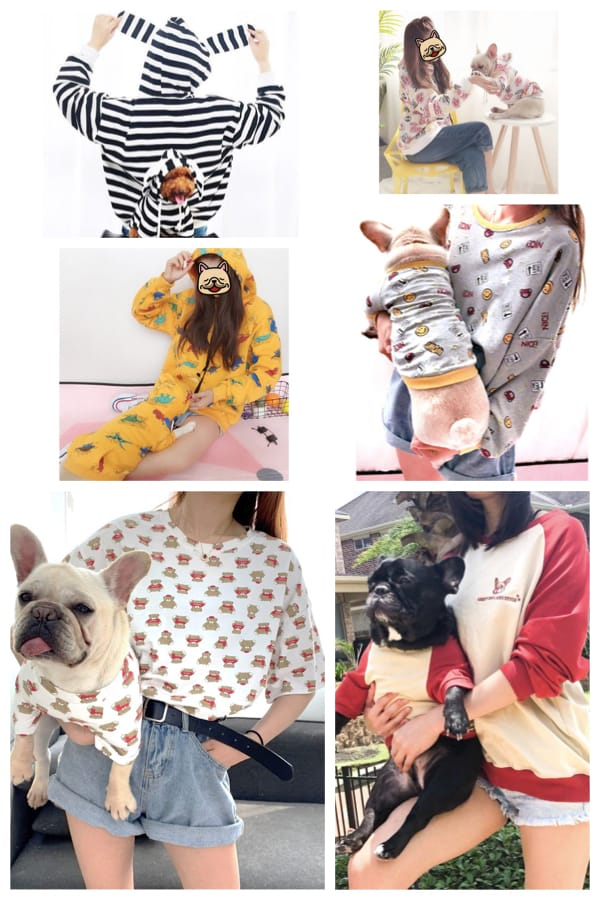 Matching Pet Owner Shirt Sets