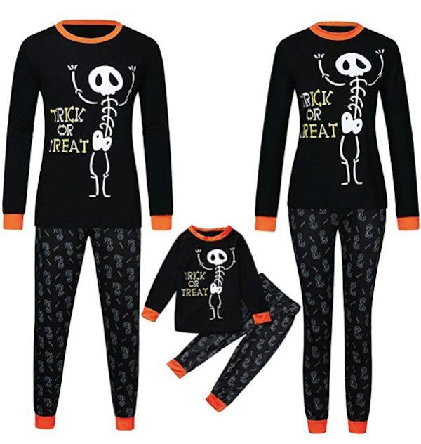Halloween Family Trick or Treat Pajama Set