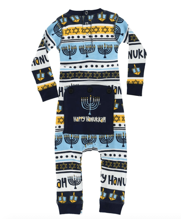 Hanukkah Flapjack Onesie
