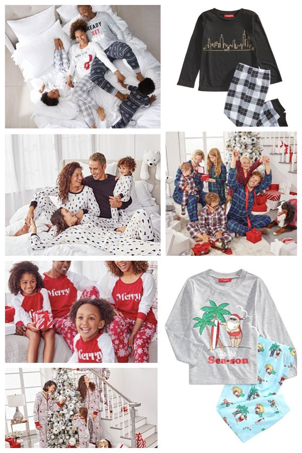 Macys 2020 Matching Family Holiday Pajama Deals