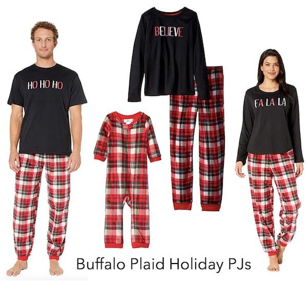 Buffalo Plaid Holiday PJs