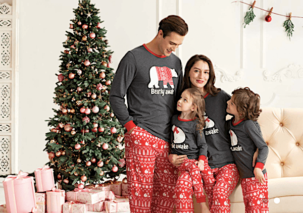 Cheap Family Matching Christmas Pajamas