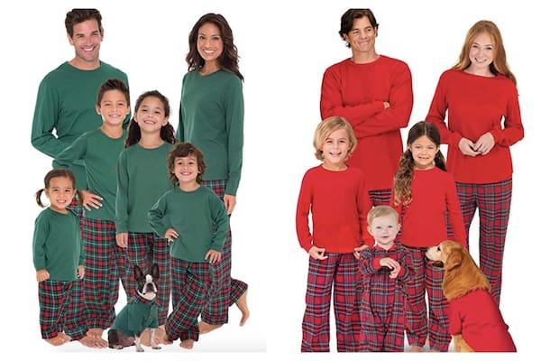 Classic Christmas Plaid Family Pajamas