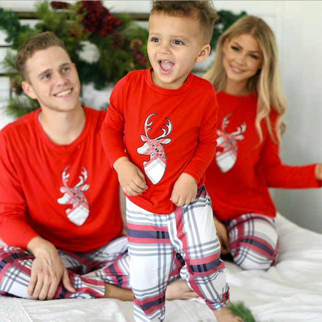 Family Christmas PJs on Sale at Jane