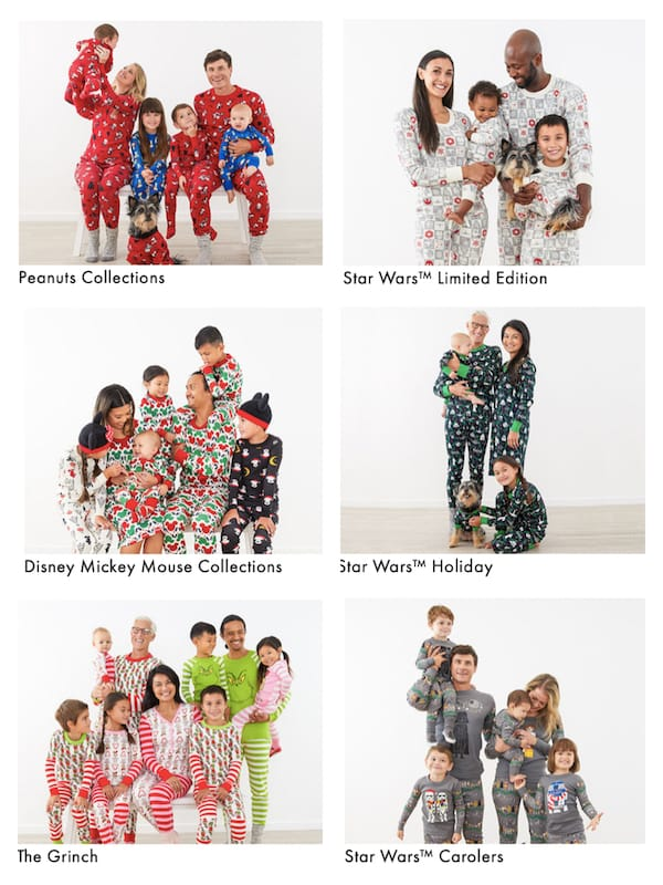 Family Matching Christmas Character Themed PJs