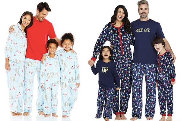 Family Matching Festive Holiday PJs