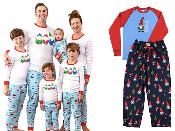 Its All about the Gnomes Family Christmas Pajamas