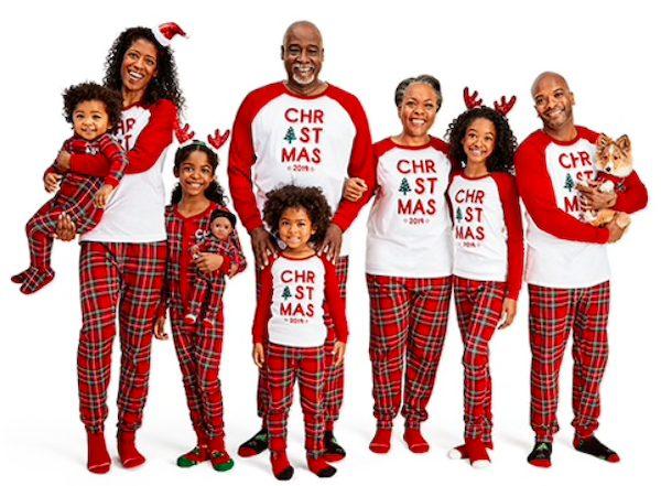 Family Plaid PJs Especially for Christmas