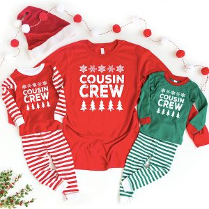 Cousin Crew Christmas Family Pajamas