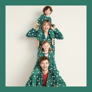 Family Matching Christmas Elves Pajamas