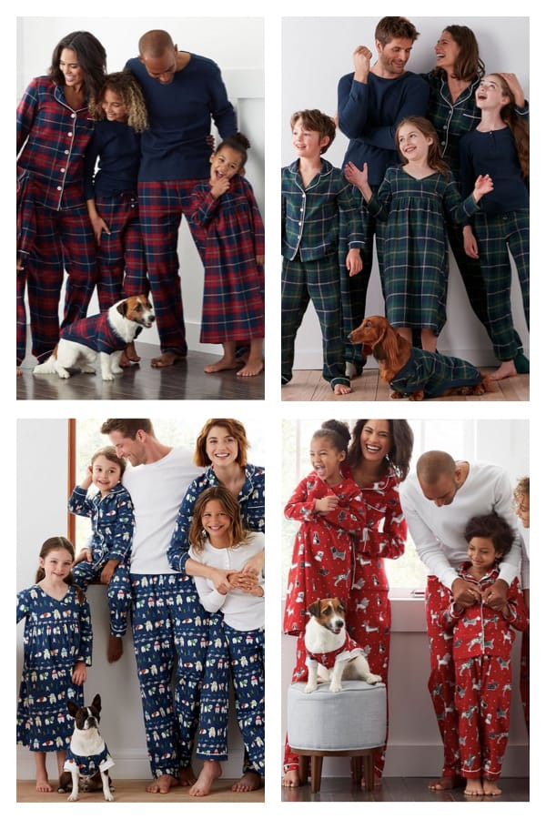 Family Matching Holiday Pajamas on Sale