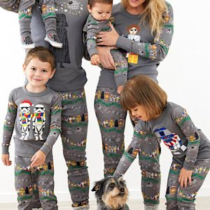 Family Matching Star Wars Christmas Pajamas