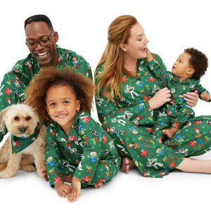 Family Matching Toy Story Christmas Pajamas