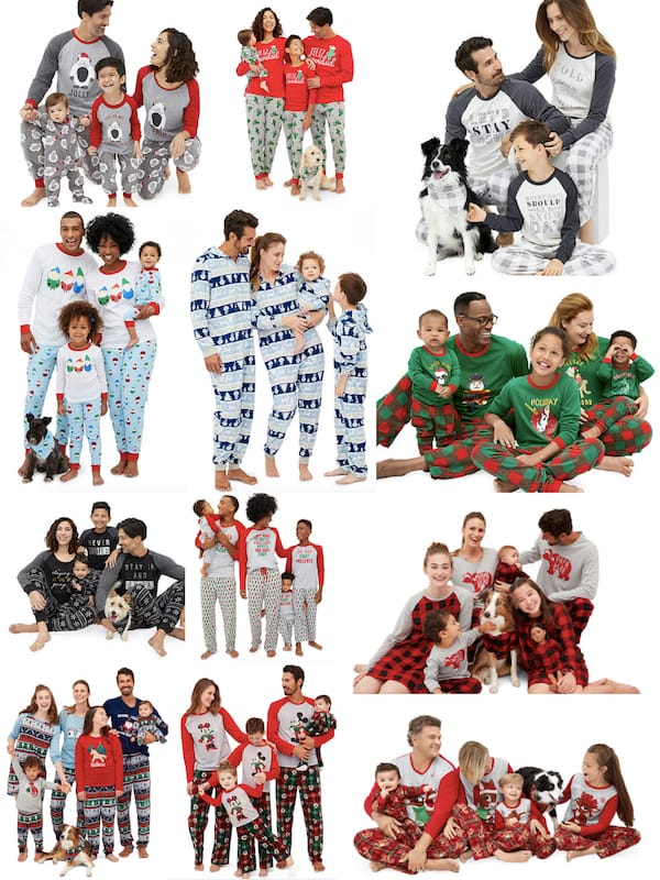 Holiday Family Pajama Deals