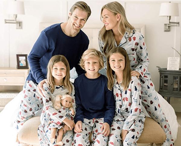 Hot Cocoa Family Matching Winter Holiday Pajamas