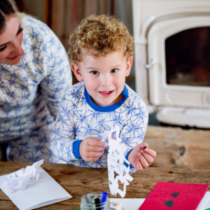 Icy-Snowflakes-Organic-Holiday-Matching-Family-Pajamas
