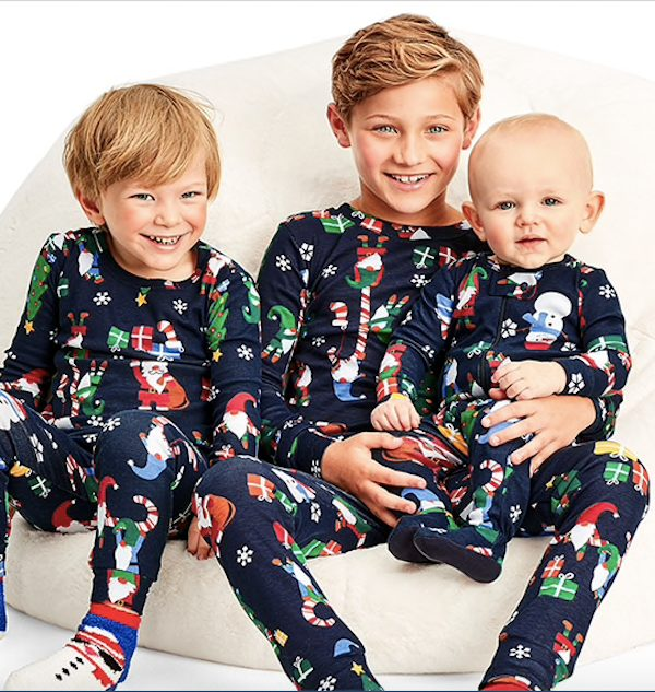 Matching Family Pajamas Gnome For The Holidays Collection
