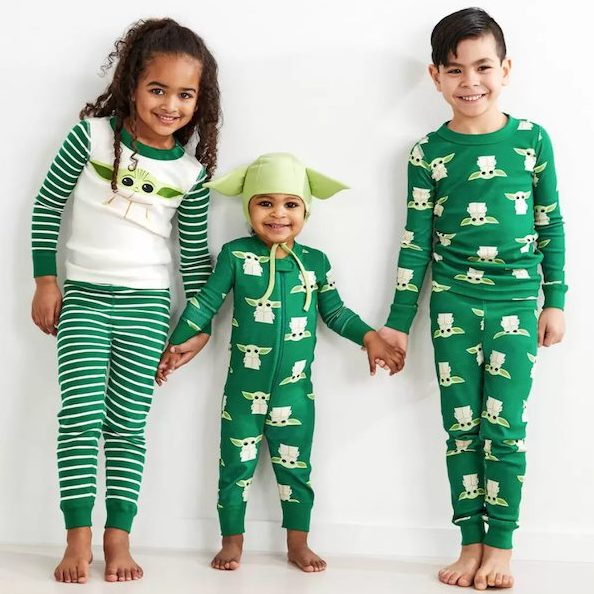 Star Wars The Child Yoda Disney Holiday Family Matching Pajamas