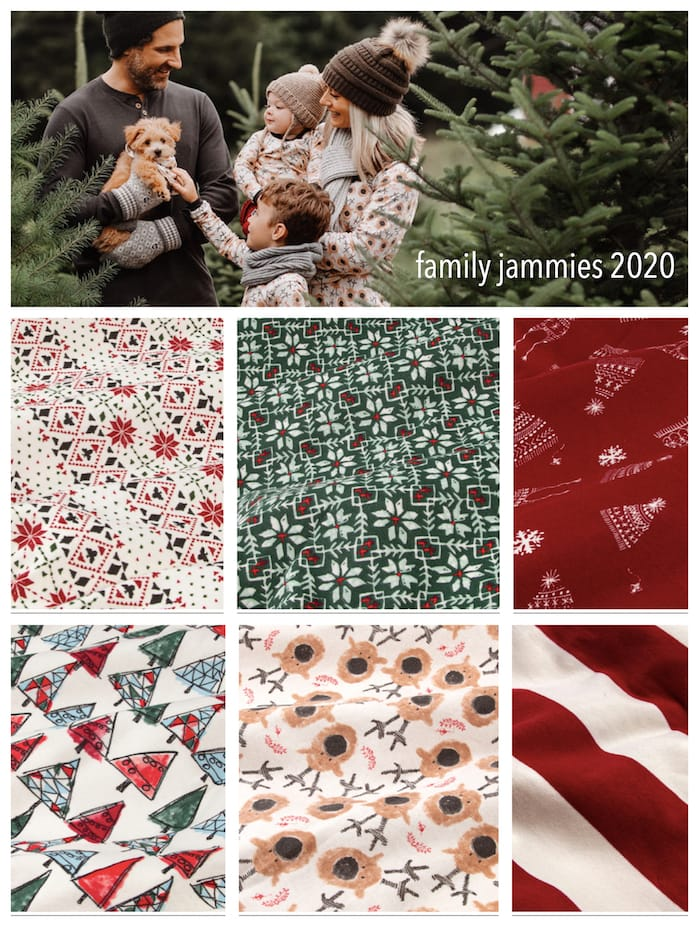 Burts Bees Baby Matching Family Holiday Pajamas 2020