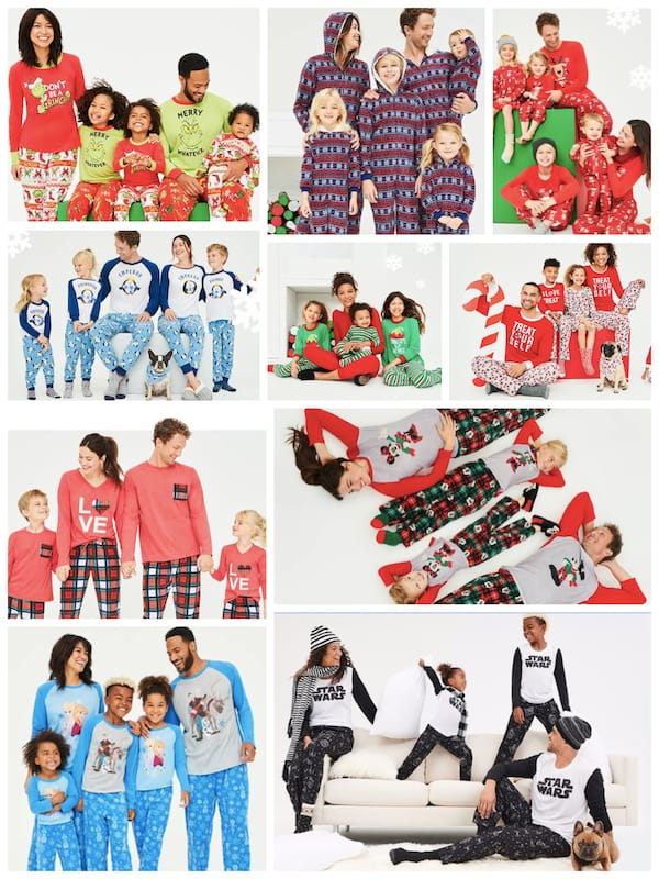 Cheap Family Matching Christmas Pajamas