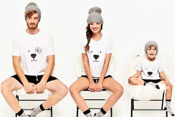 family Matching Holiday Polar Bear Pajamas