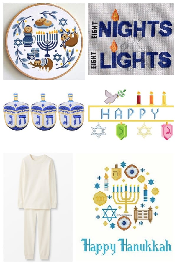 DIY Family Hanukkah Pajamas