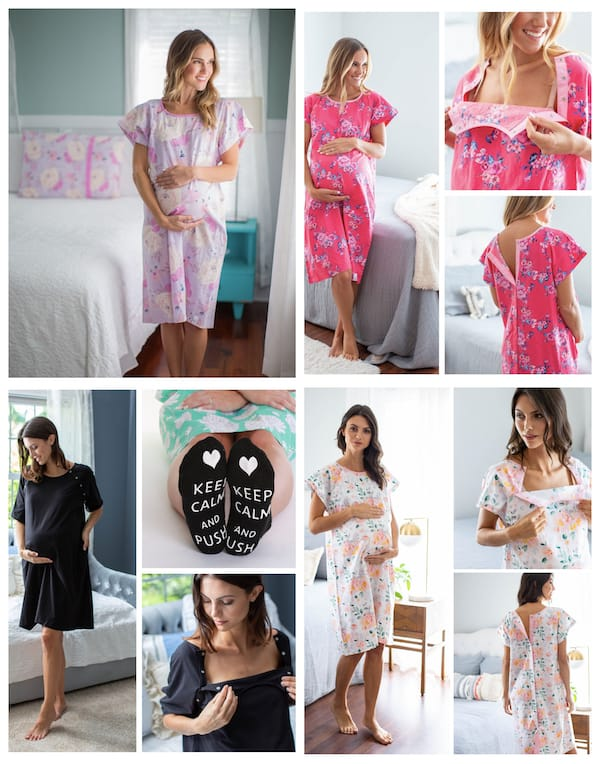 Gownies Labor and Delivery Gown for Moms